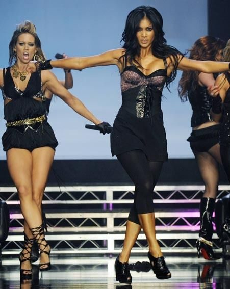 The Pussycat Dolls perform at the launch