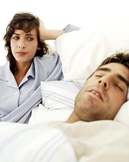 Snoring is one of the my popular reasons for divorce