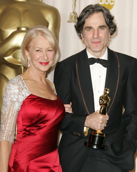 Oscar-winner Helen Mirren awarded the Oscar to Daniel