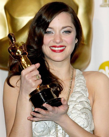 French actress Marion Cotillard was the surprise winner of the best actress Oscar