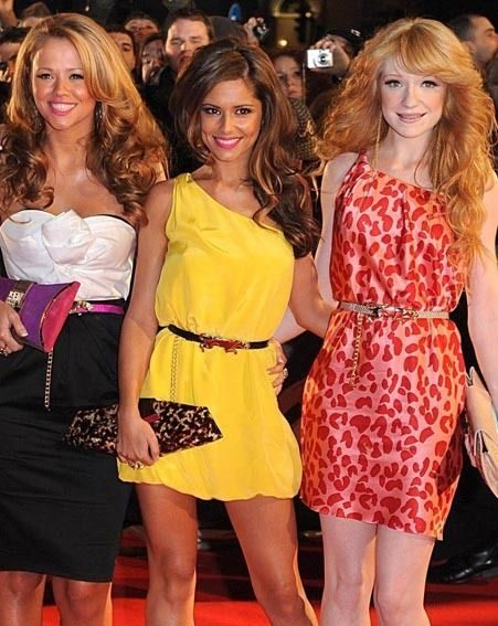 Kimberley, Cheryl and Nicola give an intimate interview