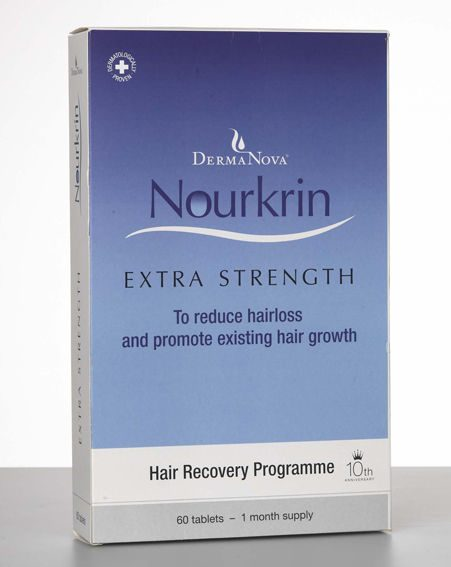 1. Nourkrin Extra Strength, £49.95 for 60 tabs.