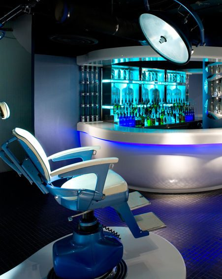 Enjoy a drink in the dentist's chair at Circa