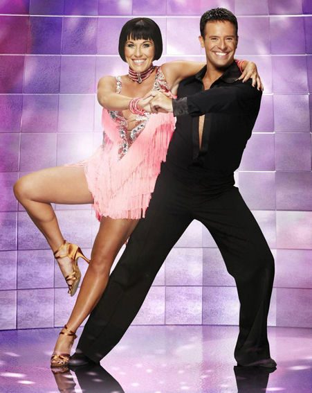 Jessie Wallace says she loves the slinky Strictly dresses