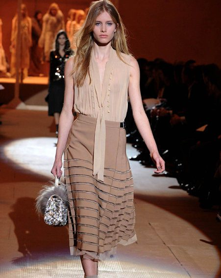 Top fashion trends Autumn/Winter 2010/11: Calf-length skirts are all the rage