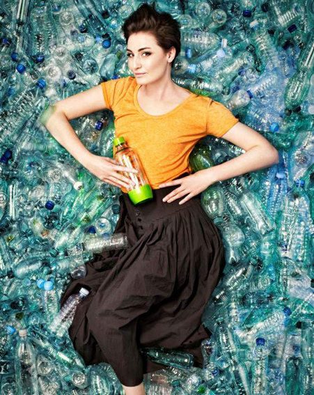 Erin O'Connor is the new face of SodaStream's A World Without Bottles campaign