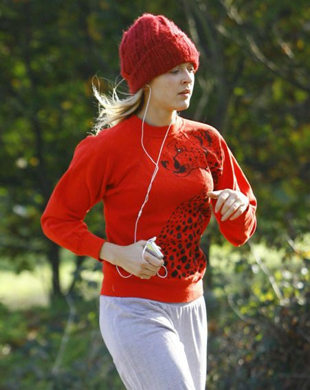 Fearne Cotton runs to keep in shape