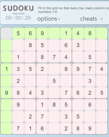 Play OK! sudoku on your PC right now!