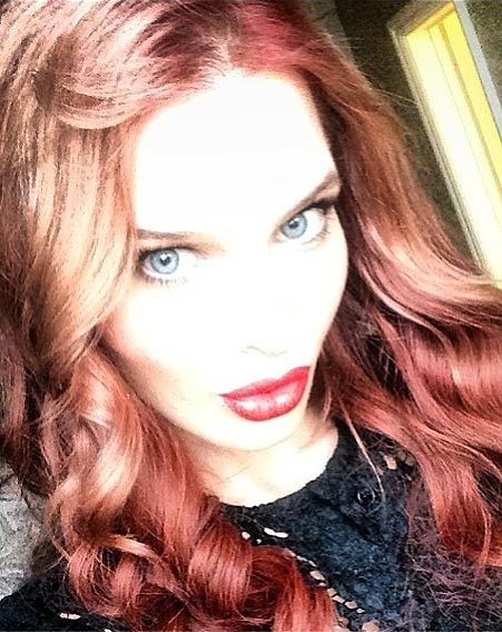 Helen Flanagan has returned to Instagram to show off her new red hair