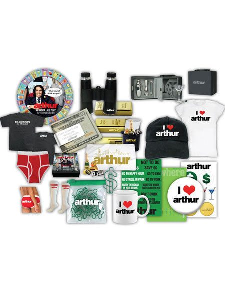 The winner and two runners-up will receive Arthur goody bags!