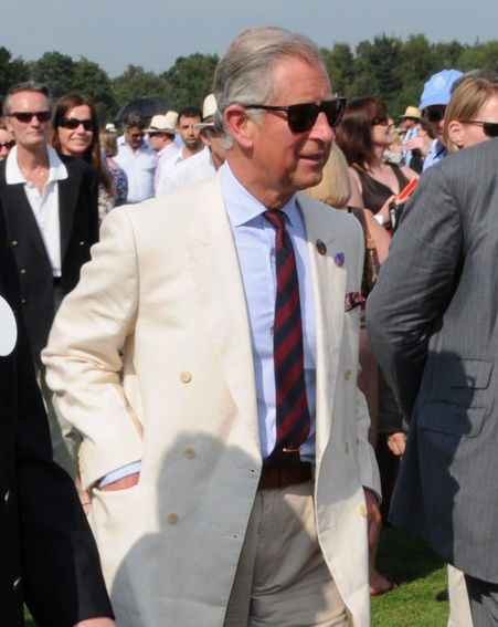 Prince Charles watched the spectacle from the Royal Box