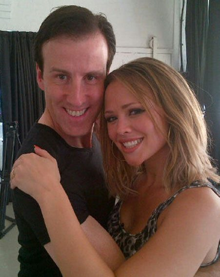 Kimberley Walsh denied that Anton du Beke is her partner in this year's Strictly Come Dancing