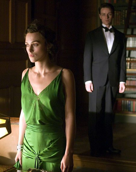 Keira was nominated for a BAFTA for her role in Atonement