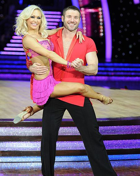 Kristina and Ben were partnered together on Strictly Come Dancing 2013
