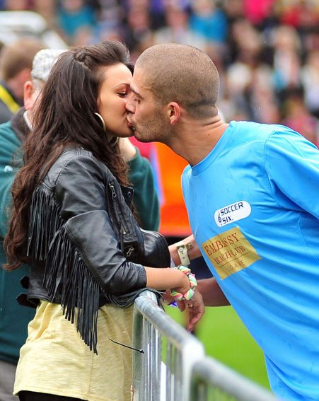 Michelle Keegan says her and Max George are not splitting