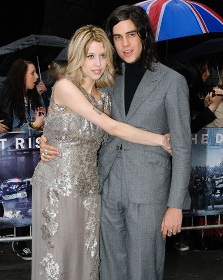 Peaches Geldof has married her rocker boyfriend Tom Cohen in Kent