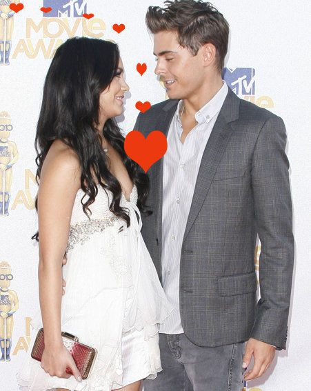 Zac Efron is still head over heels for Vanessa Hudgens...Awwww (Pic: WENN.com)