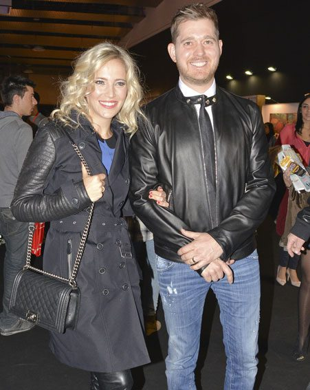 Luisana Lopilato has opened up about her son's accident
