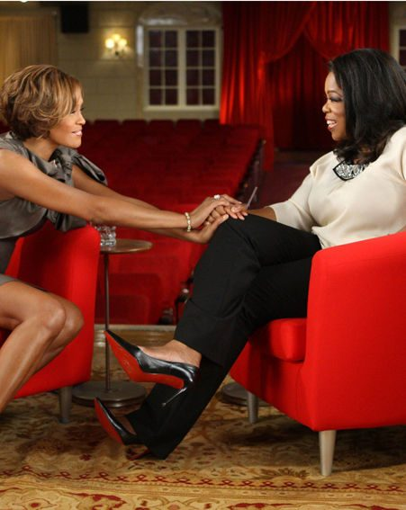 Whitney Houston held an explosive interview with Oprah Winfrey