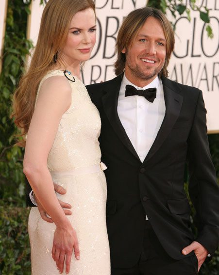 Nicole Kidman and Keith Urban announced their new addition after the Golden Globe Awards