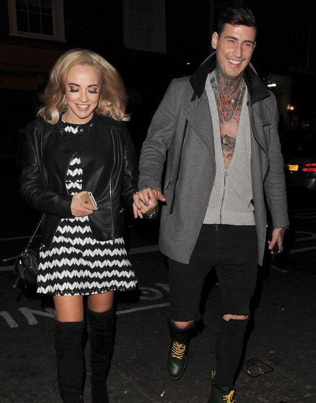 Stephanie and Jeremy have been loved up since leaving the Celebrity Big Brother house