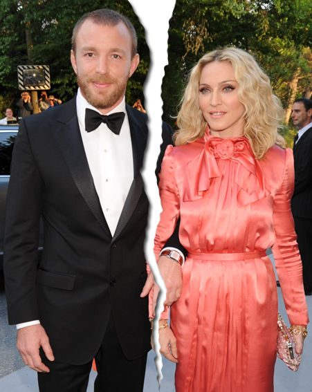 Madonna is rumoured to be divorcing Guy Ritchie