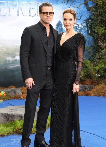 Angelina and Brad keep the romance alive after 10 years
