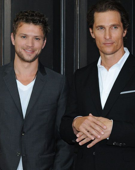 Ryan Phillippe and Matthew McCongaughey have turned up the heat in the OK! office today