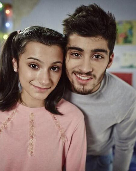 Zayn Malik shared a fond memory of him and sister Waliyha