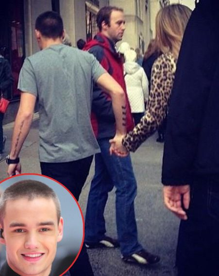 Zayn And Liam Holding Hands One Direction's Liam P...