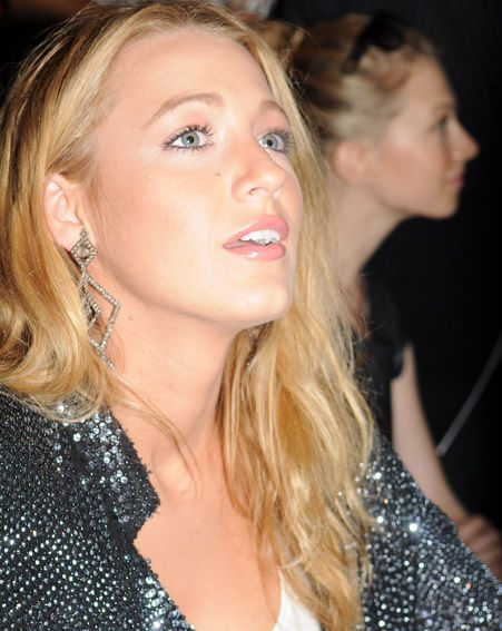 Blake Lively was busy checking out New York Fashion Week this weekend/ Wenn.com