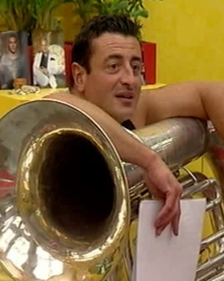 Mario told housemates to stick with the instruments they knew