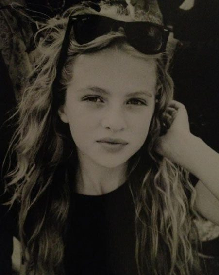 Anais Gallagher has already been compared to Kate Moss, aged just 11