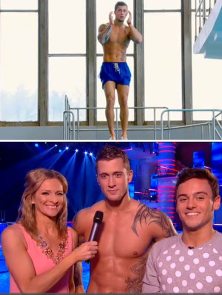 Dan Osborne has made it to the final of Splash 2014!