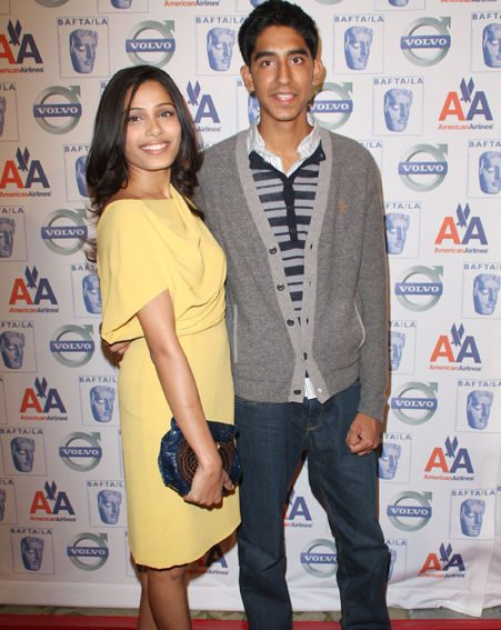 The cute couple met on the set of Slumdog Millionaire