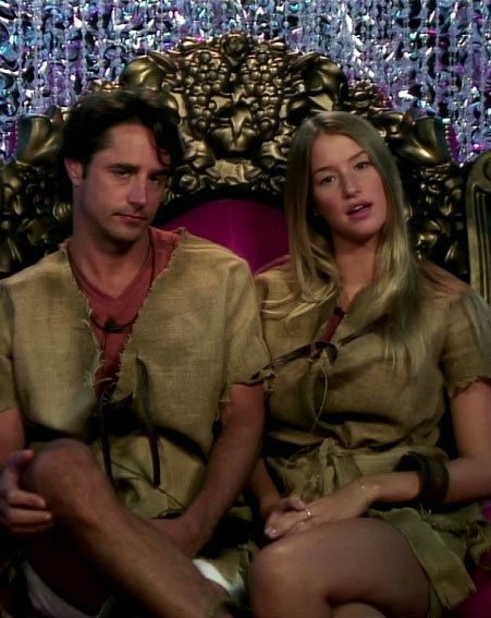 Danica Thrall and Prince Lorenzo became close in the Celebrity Big Brother house