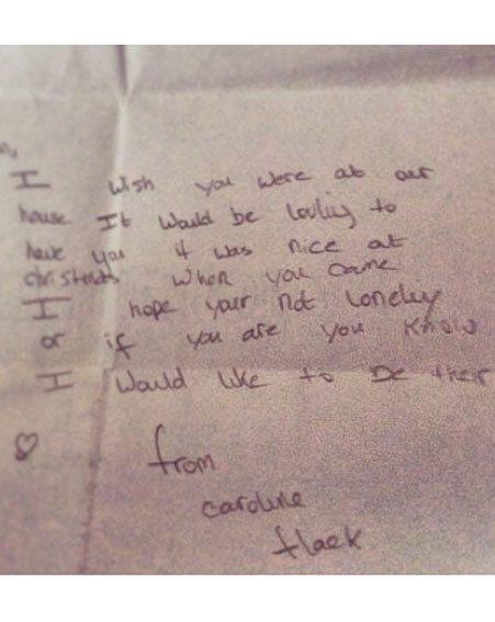 Caroline Flack Shares Emotional Letter To Her Dad With