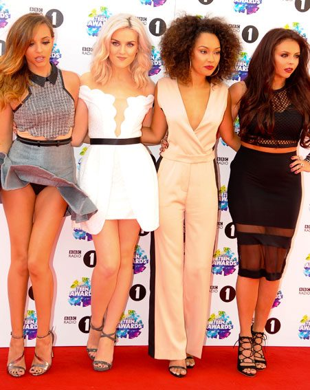 Little Mix's Jade Thirlwall had a wardrobe malfunction on the red carpet