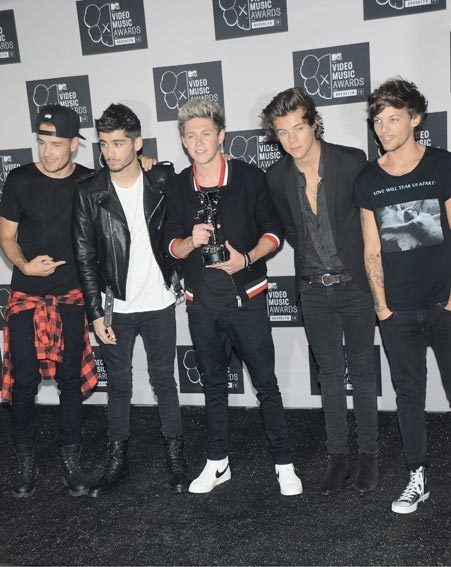 One Direction have finished their world tour