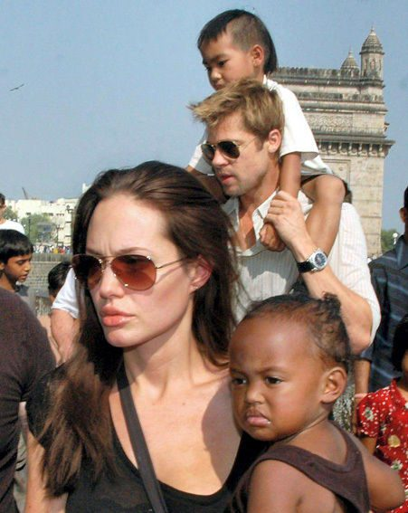 Angelina and Brad already have four children