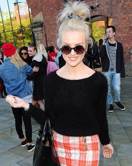 The Little Mix singer has said her wedding will be a 'massive circus'