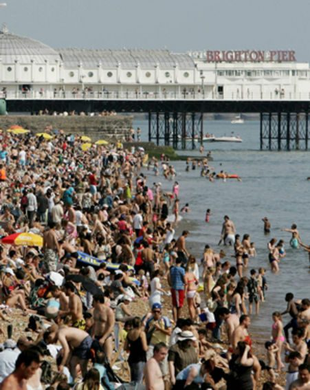 Thousands flocked to Brighton for the sunny weather last weekend