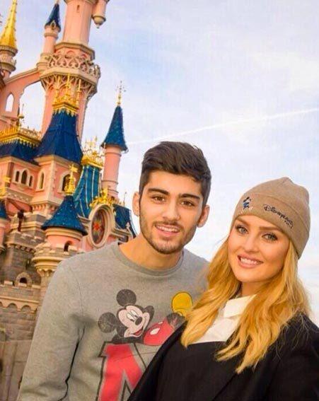 Perrie Edwards whisked Zayn Malik off to Disneyland Paris
