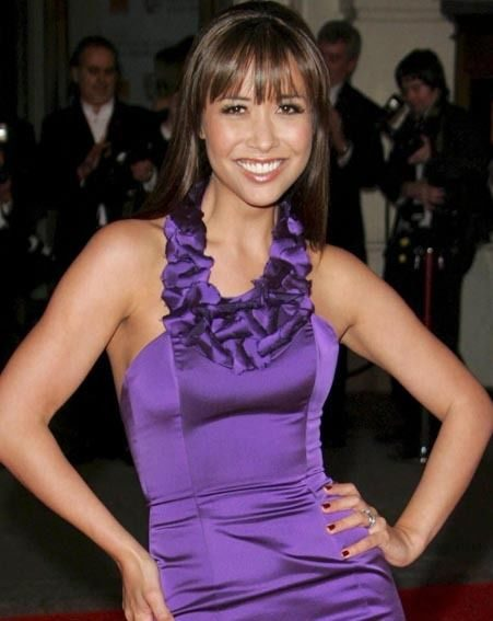 Myleene looked beautiful at the awards