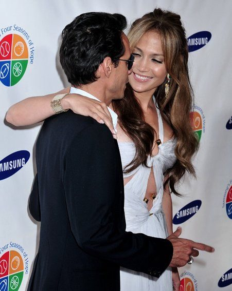 Jennifer Lopez is now happily married to Marc Anthony