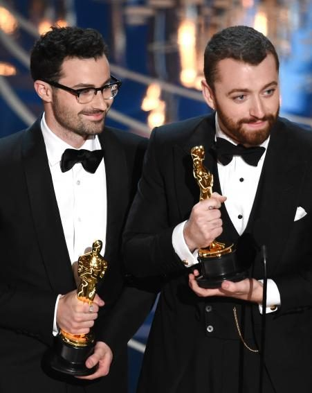 The singer dedicated his Oscar to the LGBT community
