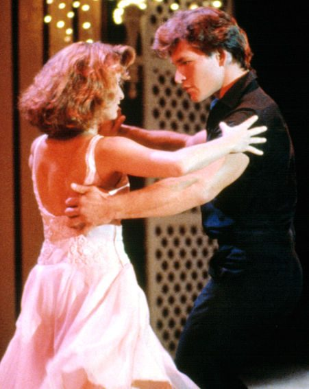In iconic film Dirty Dancing with Jennifer Grey