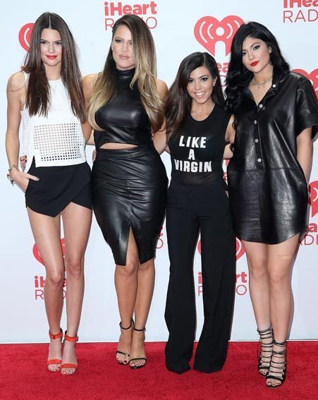 The Jenner girls come from a very close-knit family