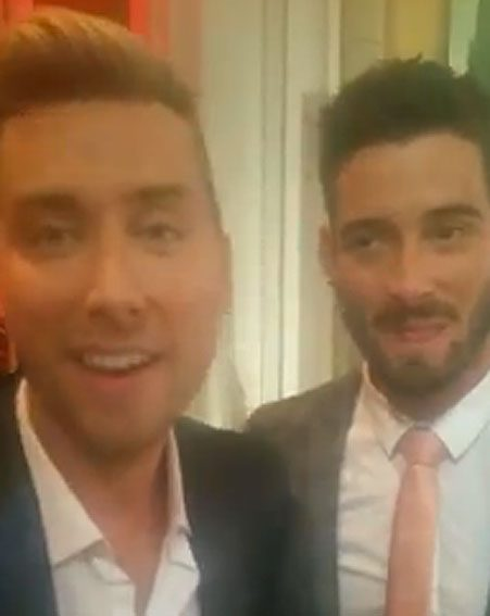 Lance Bass attended the Attitude Pride Awards with husband Michael Turchin