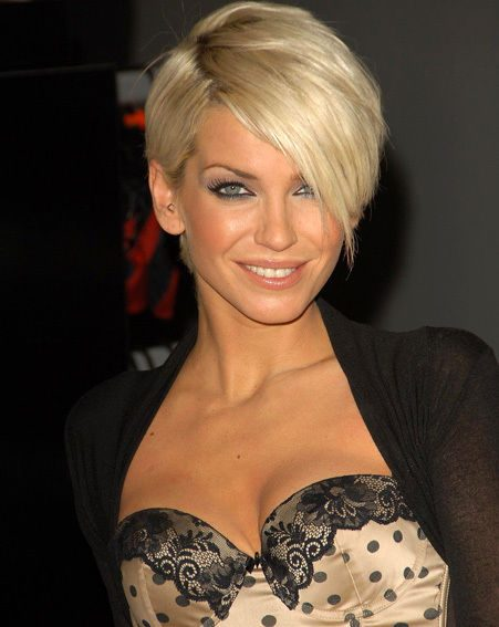Sarah Harding knows how to make the best of her natural assets
